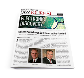 Electronic Discovery – A Special Report: Until Next Rules Change
