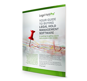Whitepaper: Your Guide To Buying Legal Hold Software