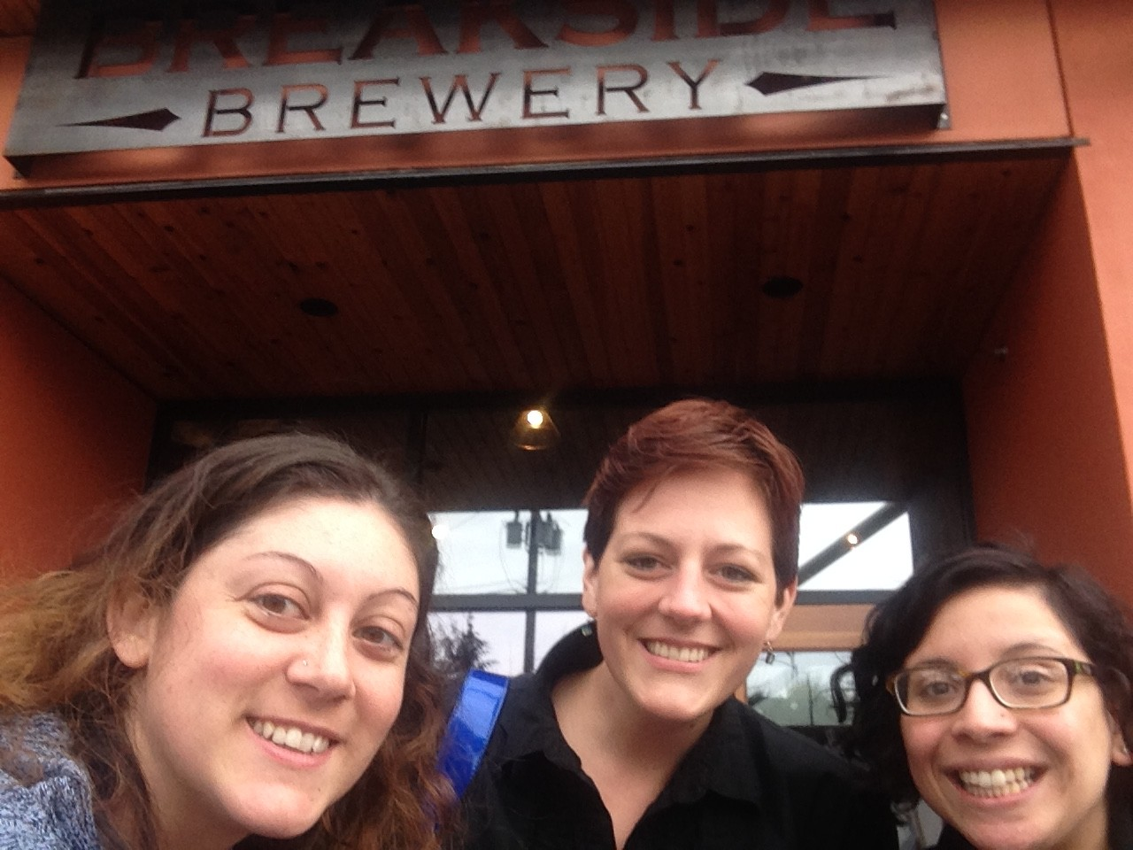 Zapproved team at Breakside Brewery