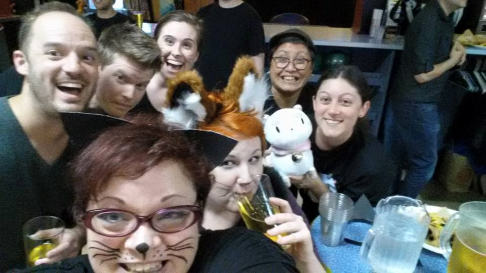 Zapproved bowling team theme - Alley Cats!
