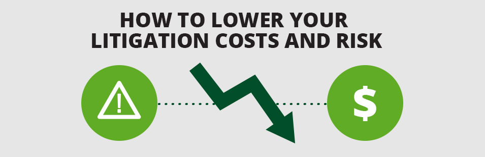 How to Lower Your Litigation Costs and Risk