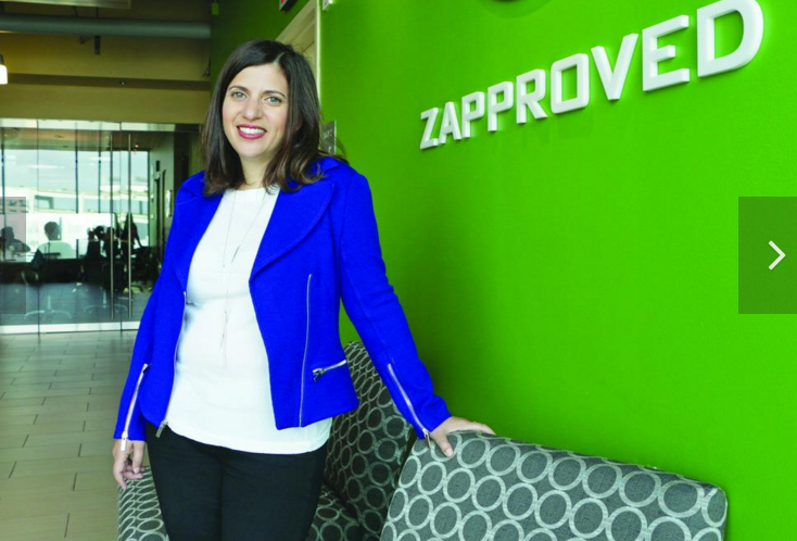 Monica Enand, CEO of Zapproved