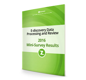 2016 Ediscovery Data Processing Benchmark Report