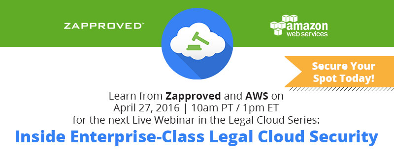 Inside Enterprise-Class Legal Cloud Security Webinar