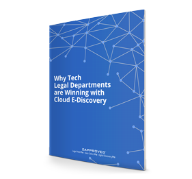 Why Tech Legal Departments are Winning with Cloud E-Discovery