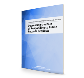 Decreasing the Pain of Responding to Public Records Requests