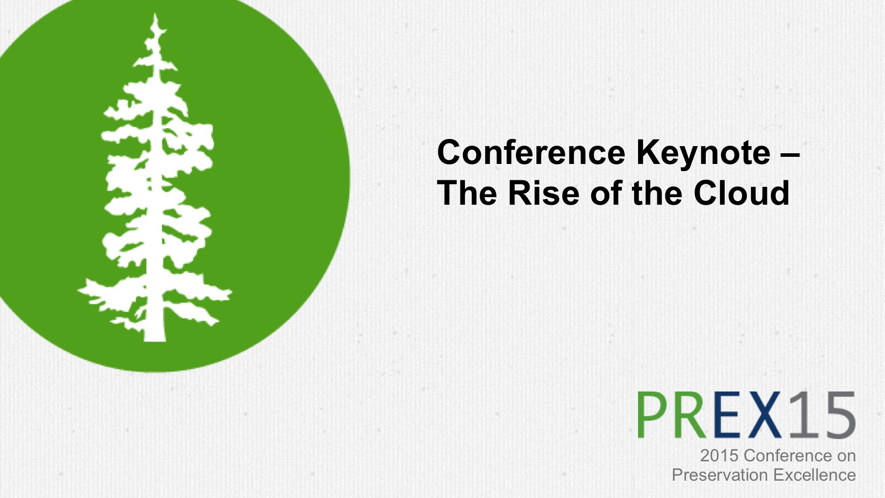The Shift to Cloud Computing and What It Means for Security and Compliance – Conference Keynote