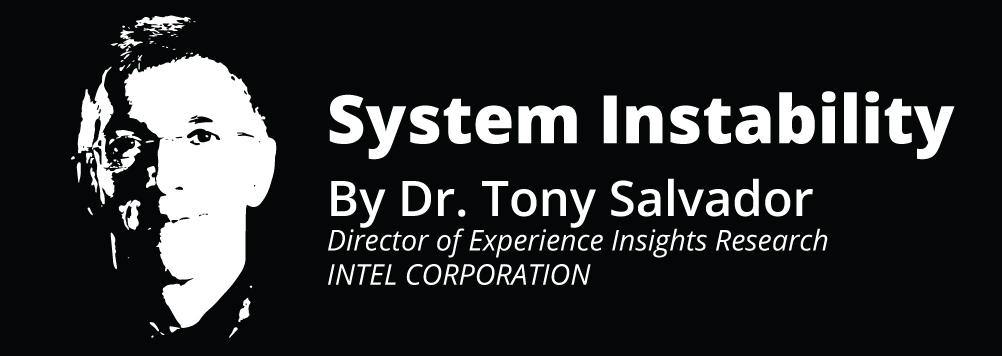 System Instability, PREX16 Keynote by Dr. Tony Salvador