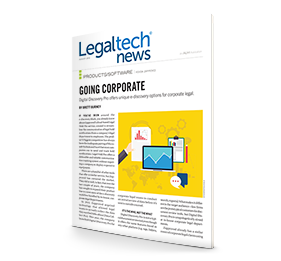Going Corporate–Digital Discovery Pro offers unique e-discovery options for corporate legal
