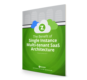 Benefit of Single Instance Multi-tenant SaaS Architecture