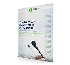 PREX16 Practical - The New Law Department Professional