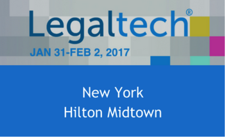 Legaltech New York: 2017
