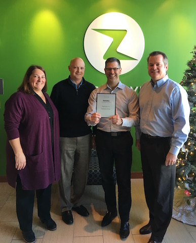 Deloitte Presents Zapproved with 2016 Technology Fast 500 Award