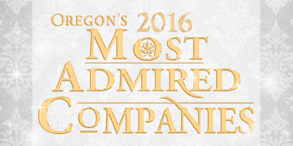 Oregon's 2016 Most Admired Companies