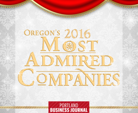 Zapproved #5 on the 2016 Top 10 Oregon's Most Admired Companies