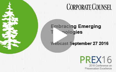 Webinar | Embracing Emerging Technologies and How to Legally Prepare
