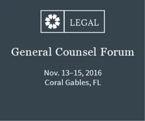 Consero General Counsel Forum