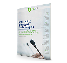 PREX16 Summary: Embracing Emerging Technologies brought by Zapproved