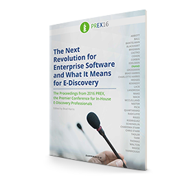 The Next Revolution for Enterprise Software and What It Means for E-Discovery