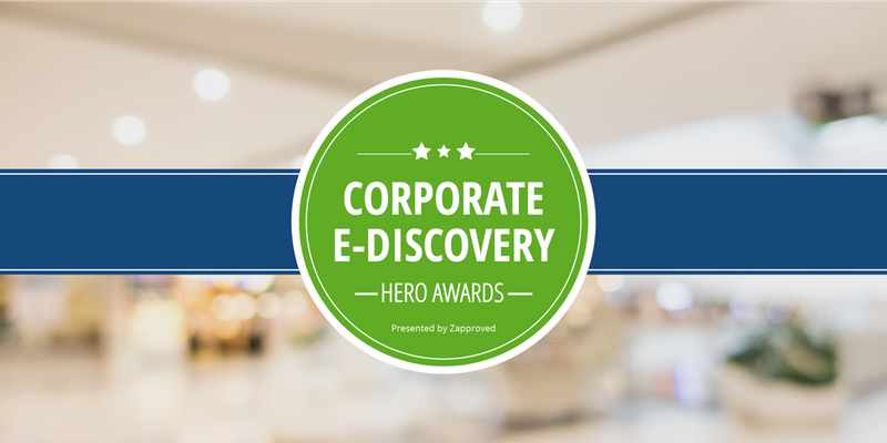 Corporate E-Discovery Hero Awards Celebration with NPR's Nina Totenberg