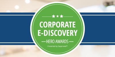 Corporate E-Discovery Hero Awards Celebration welcomes NPR's Nina Totenberg