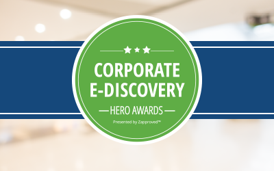 Corporate E-Discovery Hero Awards Celebration welcomes NPR's Nina Totenberg