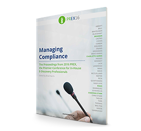 2016 PREX Practical: Managing Compliance brought to you by Zapproved