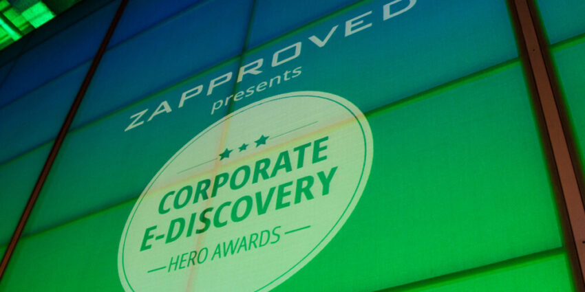 Zapproved_CorporateEdiscoveryHeroAwards_VideoWall