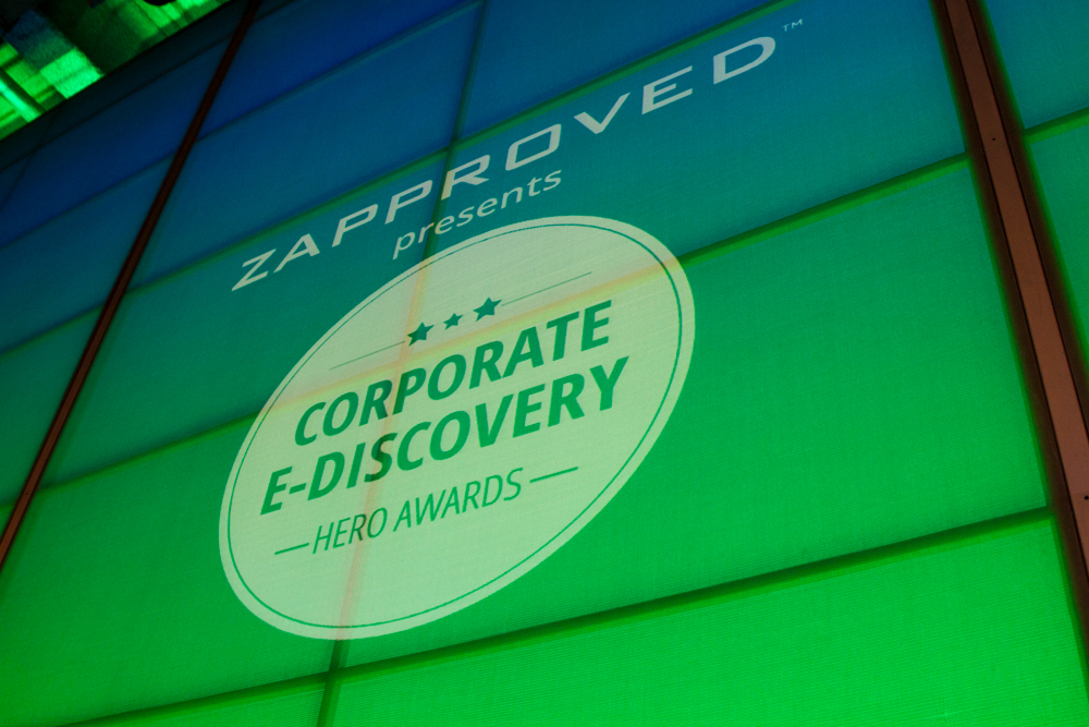 Corporate Ediscovery Hero Awards Recap and Photo Highlights