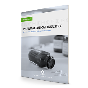 Ediscovery for Pharmaceuticals