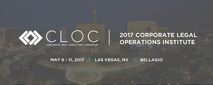 CLOC 2017: Corporate Legal Operations Institute