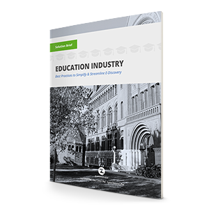 Zapproved SolutionBrief - Education Industry