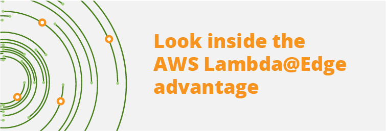 Header for AWS Lambda @ Edge advantage