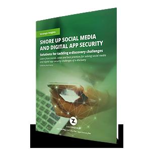 Shore up social media and digital app security