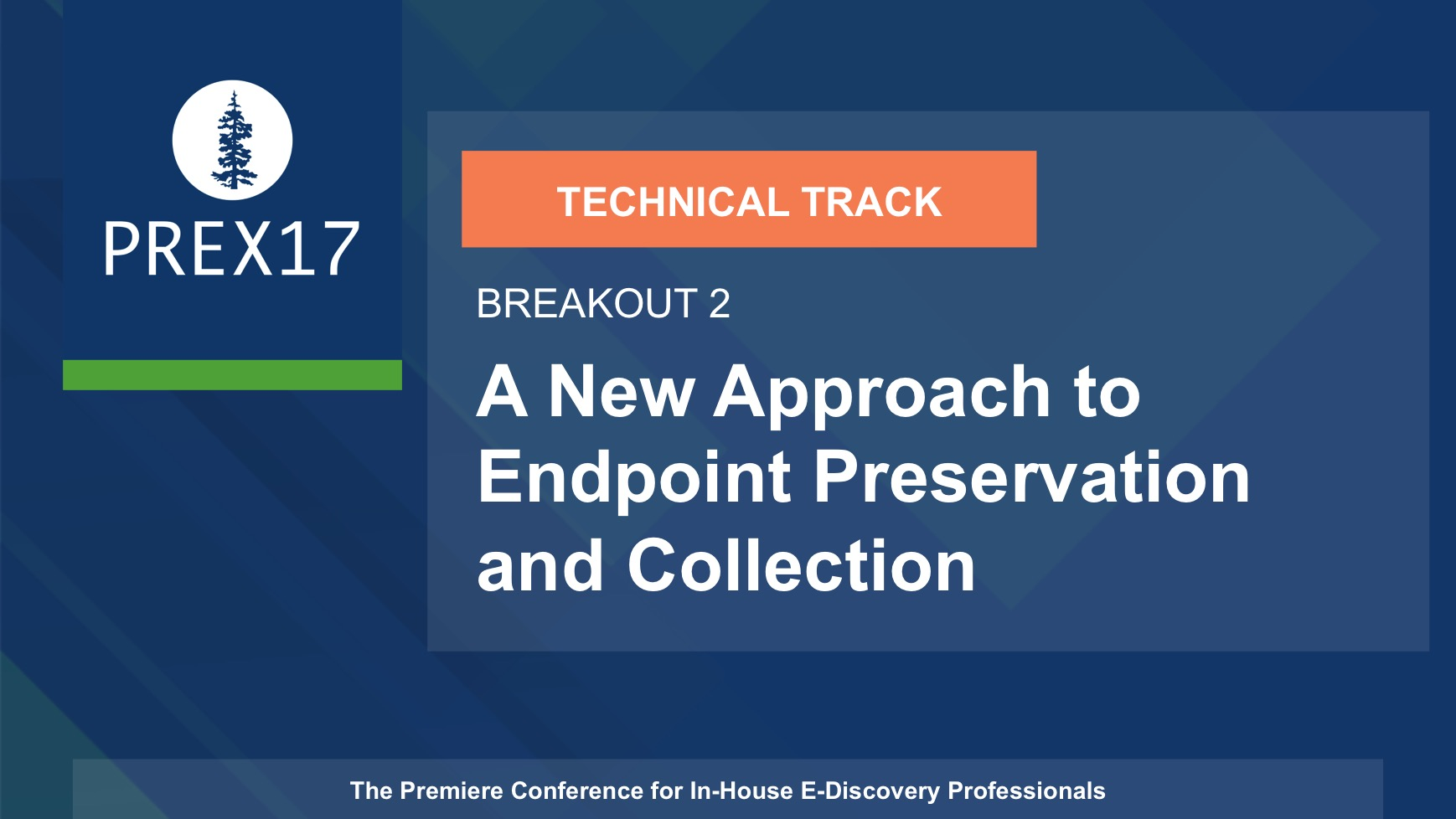 (Breakout 2 - Technical) A New Approach to Endpoint Preservation and Collection