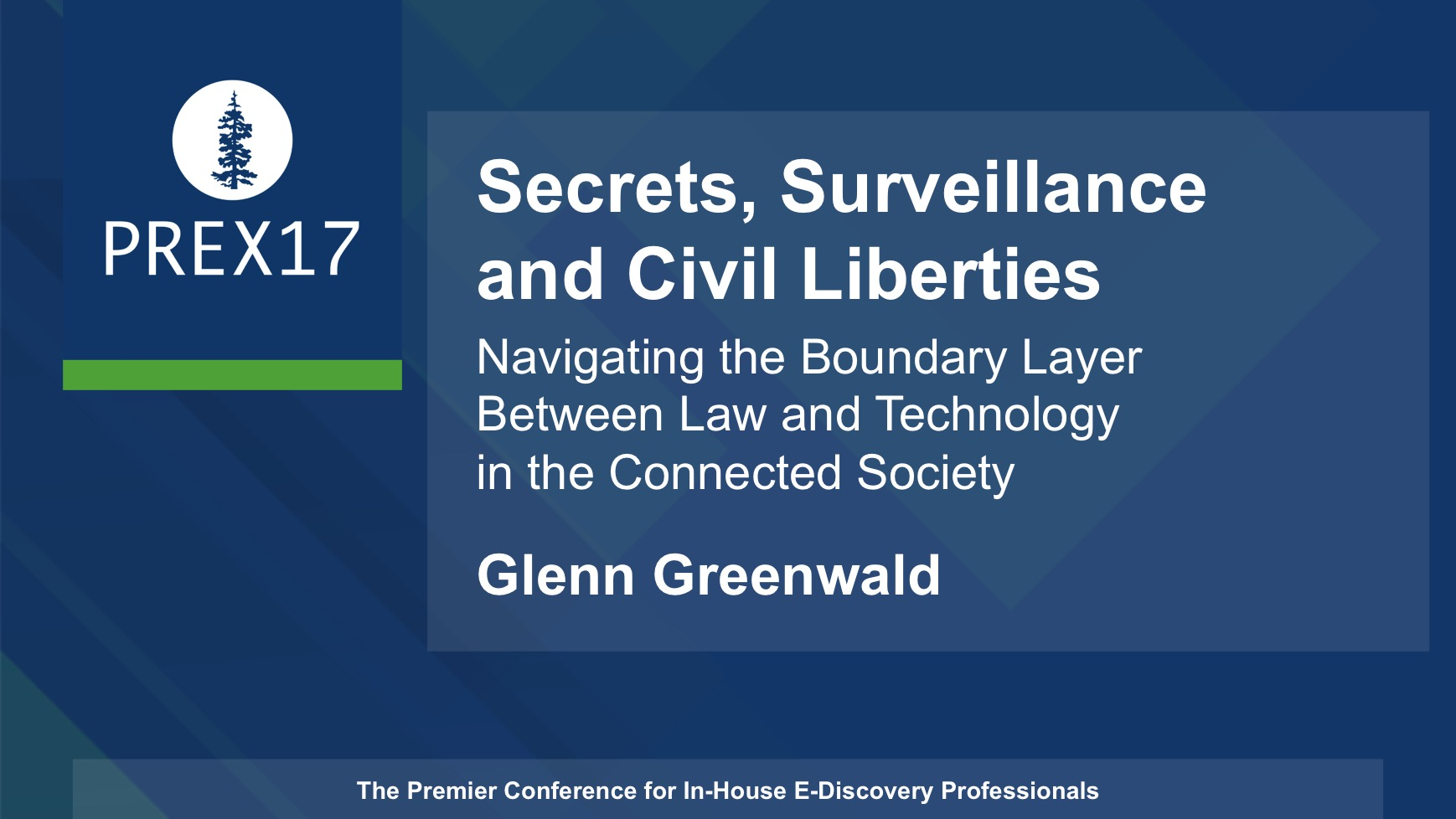 Keynote: Glenn Greenwald, Pulitzer-Prize Winning Journalist, Constitutional Lawyer and New York Times Best-Selling Author