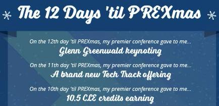12 days 'til PREXmas