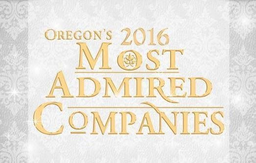 Zapproved Award for Oregon's Most Admired Companies