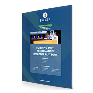 Building Your Preservation Response Playbook Whitepaper