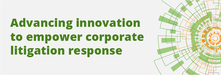 image for the blog post on Zapproved's pace of innovation, which is enabling rapid response to improve defensible corporate litigation response workflows
