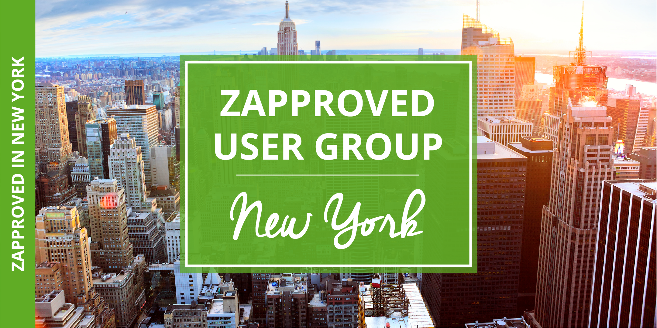 Zapproved 2018 User Group in New York