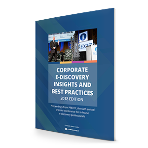 Corporate Ediscovery Best Practices
