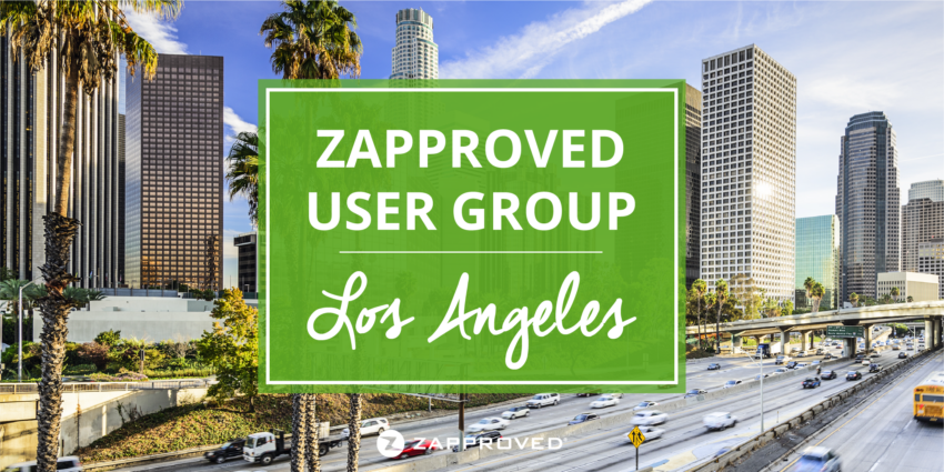 Zapproved User Group in Los Angeles