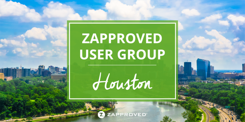 Zapproved User Group Houston Texas