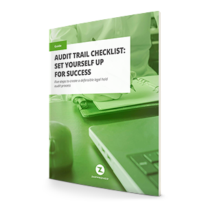 Audit Trail Checklist: Set Yourself Up for Success