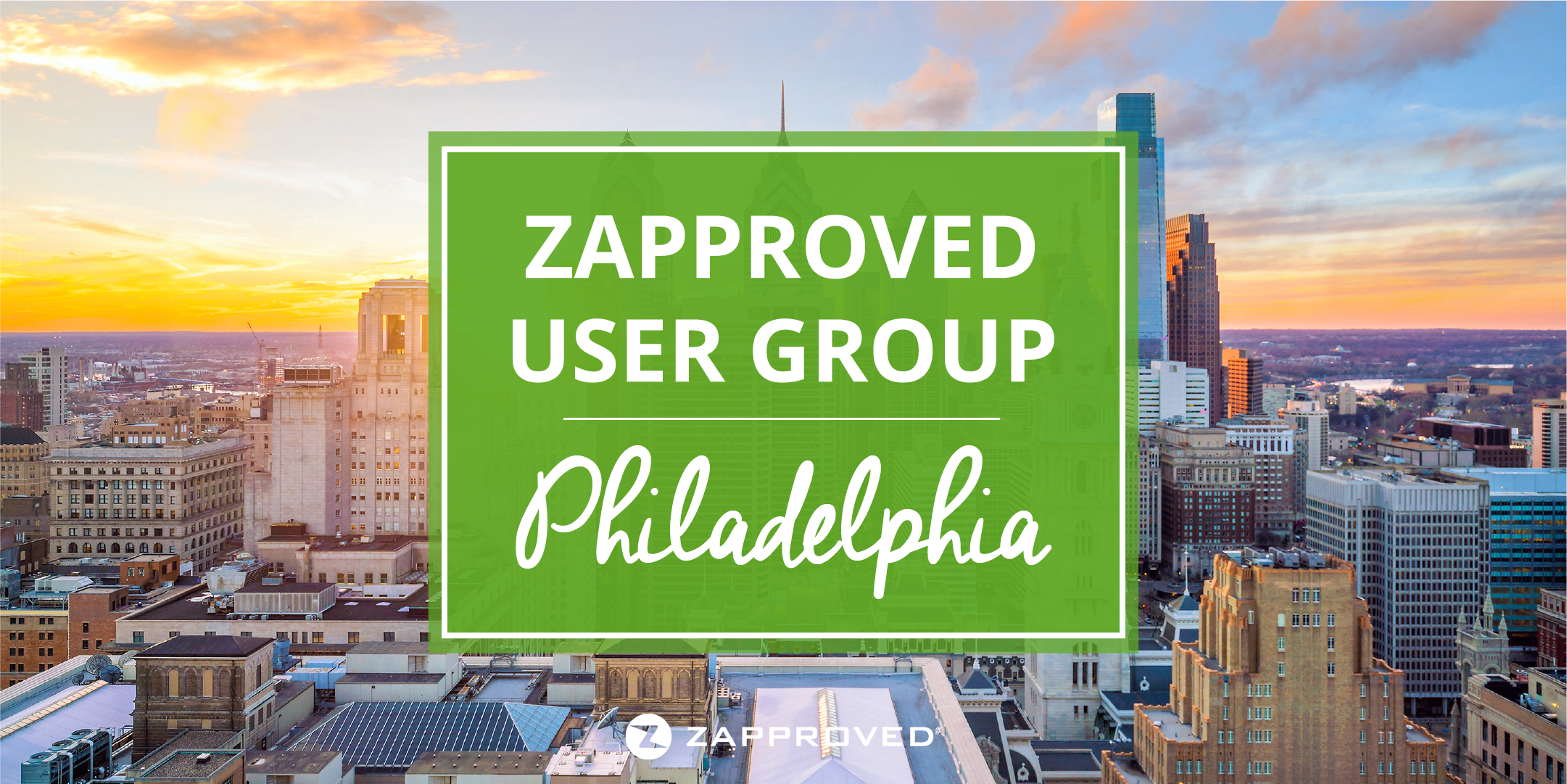 Zaproved User Group - Philadelphia
