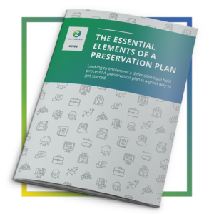 Guide - Elements of a Preservation Plan