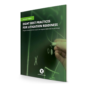 Litigation Readiness: 8 Best Practices