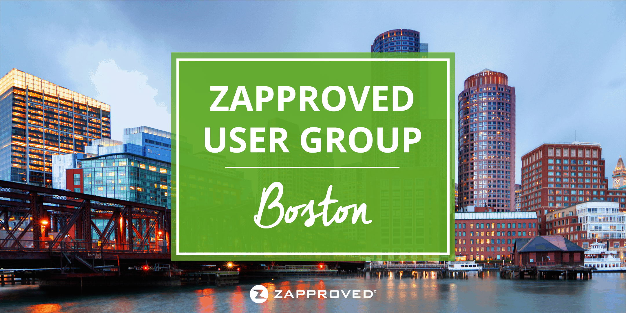 Zapproved User Group Boston June 2018