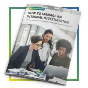 Guide - How To Manage An Internal Investigation